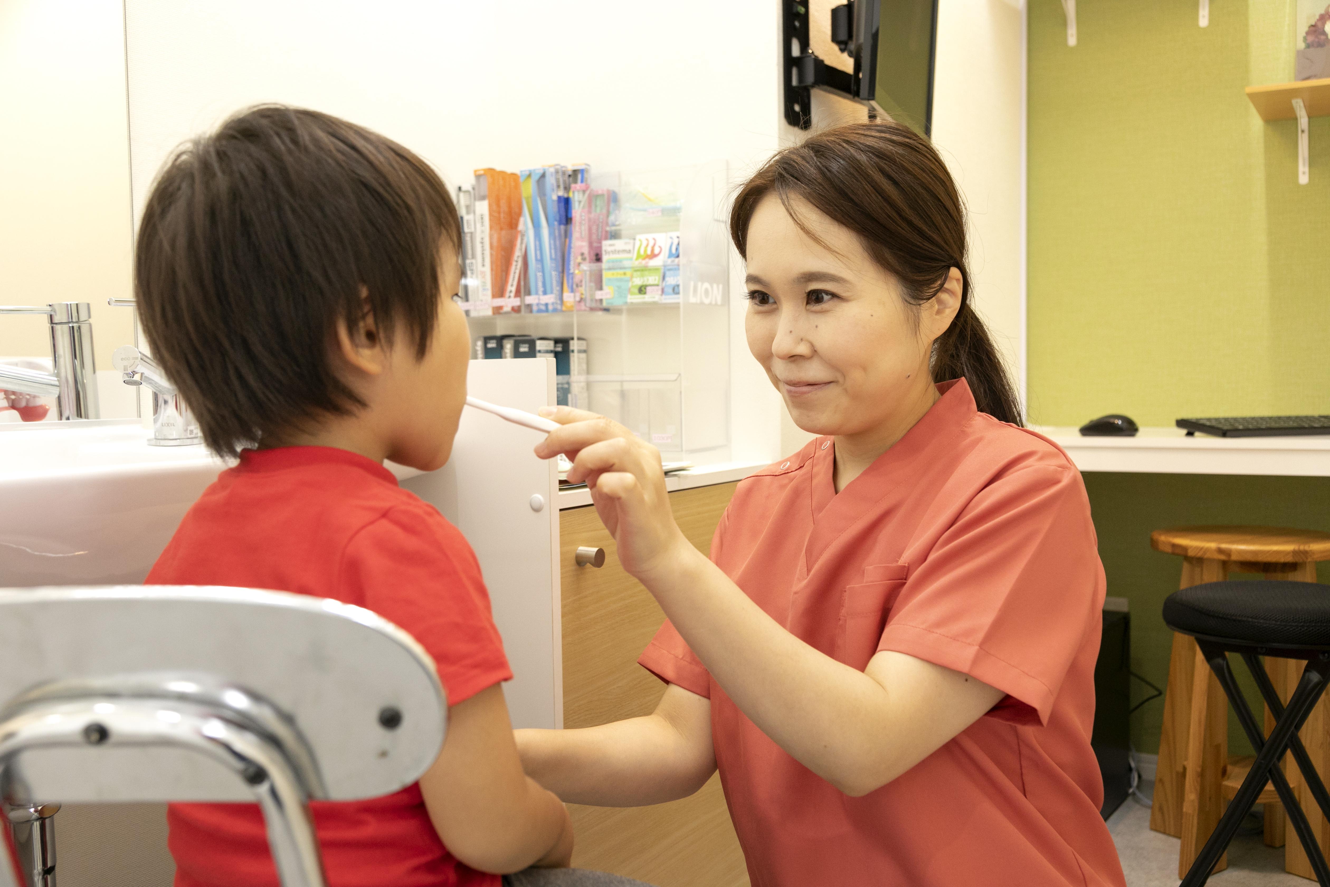 お子様のむし歯治療